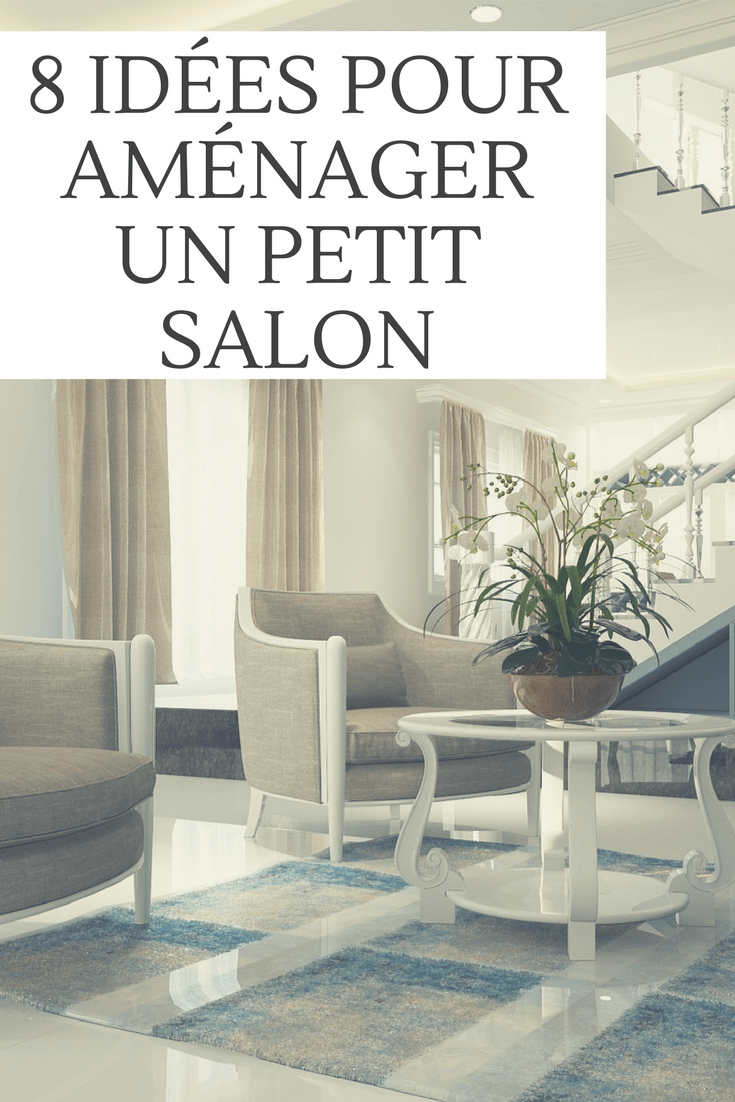 8 id es pour am nager parfaitement un petit salon for Amenager un grand salon
