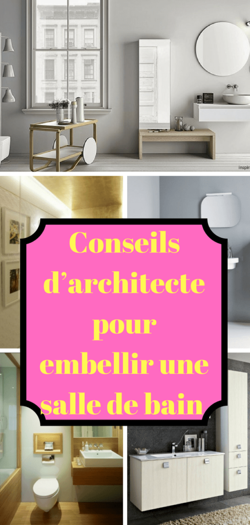 10 id es d 39 architecte pour embellir une petite salle de bain. Black Bedroom Furniture Sets. Home Design Ideas