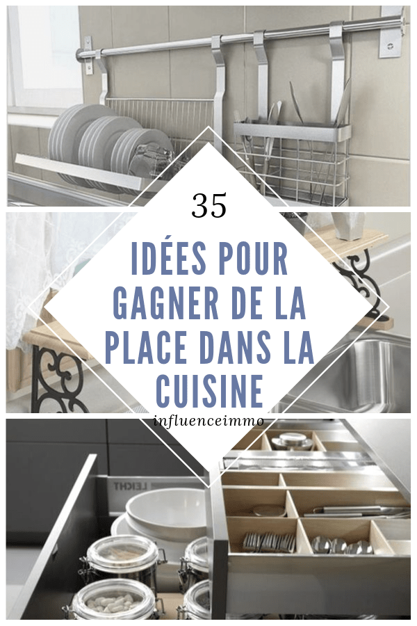 35 brillantes idees pour organiser sa cuisine. Black Bedroom Furniture Sets. Home Design Ideas