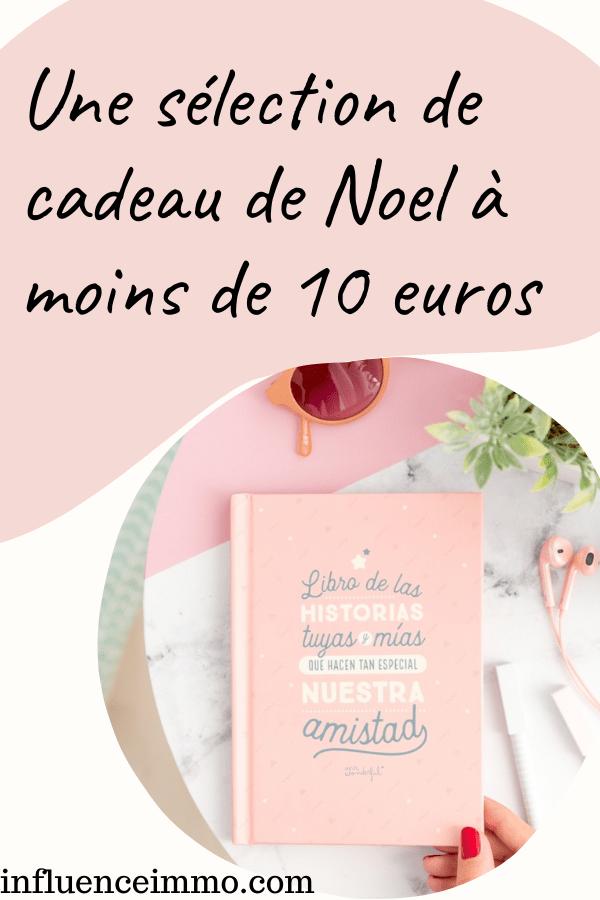 Une sélection de cadeau de Noel à moins de 10 euros