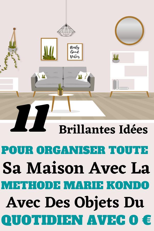11 Idées Géniales Pour Organiser Sa Maison Avec 0 Euros
